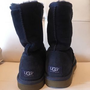 Navy ugg boots